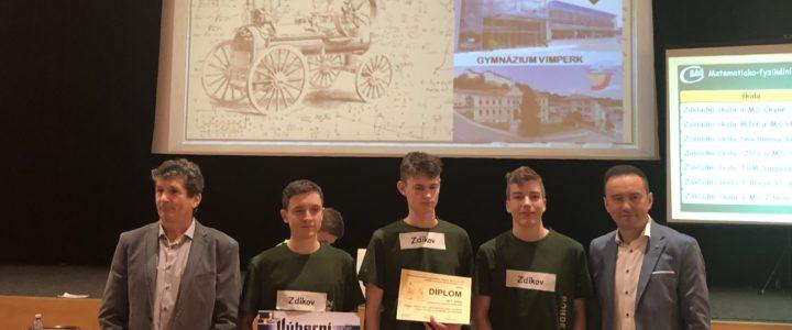 Vítězství v soutěži RSG.